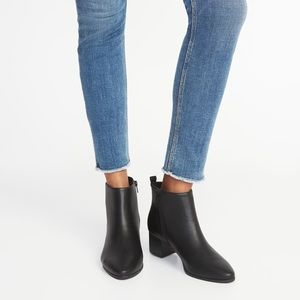 Old Navy Pointed Toe Ankle Booties